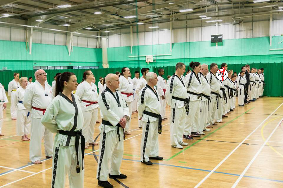 Line Up including Black Belts