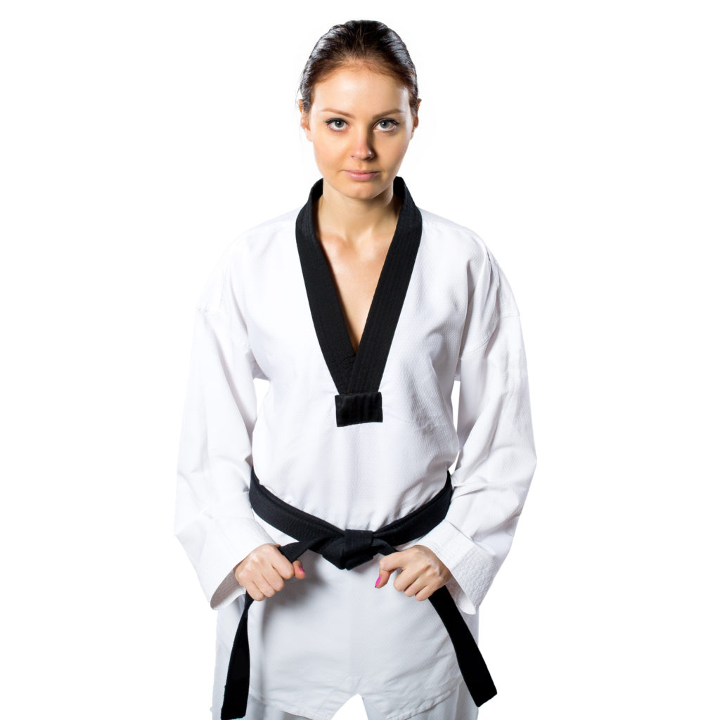 Beautiful,Woman,In,Kimono,On,White